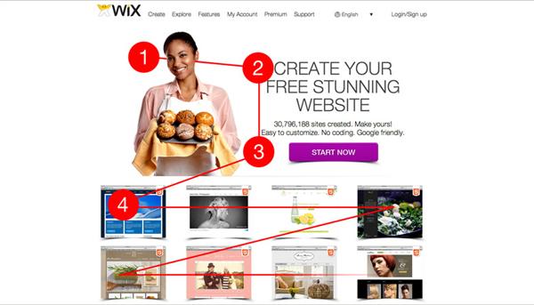 Wix Create Website