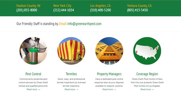 Greenearth Pest Control Info