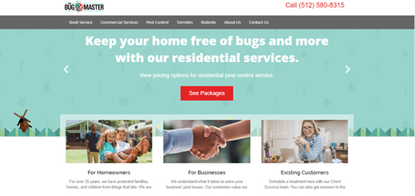 The BUG mASTER packages