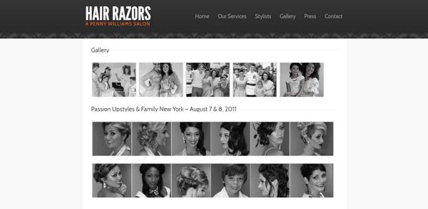 Hair Razor Salon Gallery