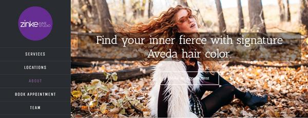 Zinke Hair Salon About